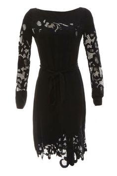 The Long Sleeve  Mary Katrantzou Long Sleeve Printed Dress in Saga Trees, $3,472; stylebop.com  COURTESY OF SCOOP NYC