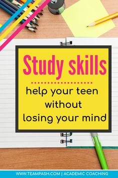 What You Can Learn From a Study Skills Course — Team Pasch Academic Coaching – Wanderlust School Planner, School Schedule, Toddler Schedule, School Tips, School Ideas, Note Taking Tips, High School Years, Study Skills, Life Skills