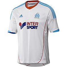 Camisa Marseille I, White / OM Blue