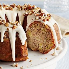 Hummingbird Bundt Cake | From pineapple to cream cheese, Hummingbird Bundt Cake has the same ingredients as the original popular layer cake but simplified by baking in a Bundt pan.