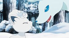 Pokémon Sun and Moon - Eskimo Kisses! Pokemon Gif, Pokemon Zoroark, Alolan Vulpix, Pokemon People, Pokemon Comics, Pokemon Memes, Anime Comics, Pokemon Cards, Alolan Ninetales