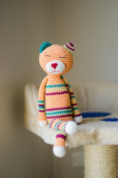 Amigurumi Crochet Ravelry : Crochet - Toys, Animals, Amigurumi on Pinterest Cat ...