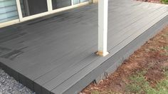 I resurfaced my Deck using a Bamboo composite (#QuickCrafter)