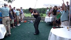 Phil Mickelson hits tee shot into hospitality suite.and plays it (Video) by Holdout Sports Happy Birthday Phil, Phil Mickelson, Golfer, Golf Videos, Golf Channel, Photos Of The Week, Top Photo, Golf Tips, Espn