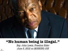Rep.John Lewis, Freedom Fighter, speaks the truth this morning on TV