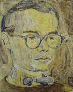 Philip Pearlstein. Portrait of Andy Warhol. 1950. (3) Tumblr