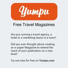 Travel Magazines, Free Travel, Travel Agency, Public, Marketing, Thoughts, Ideas