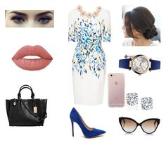 """""""Sophisticated darling"""" by vintagegabbi on Polyvore featuring L.K.Bennett, Coach, Lime Crime, Vivienne Westwood, J.Crew and Cutler and Gross"""