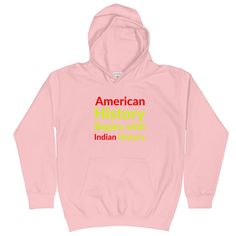 American History Begins with Indian History - Baby Pink / XS