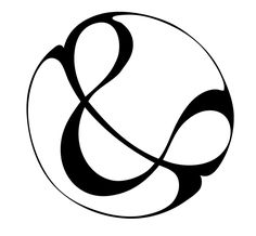 Pen and Watercolor Ampersand Create art for your home. Try this simple ampersand using a black ink pen and watercolor paints. Ci Design, Logo Design, Graphic Design, Ampersand Tattoo, Art Deco Logo, Letter Symbols, Bristol Board, Pen And Watercolor, Glyphs