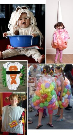 30 Easy Homemade DIY Halloween Costumes for Kids : dying over the sushi baby costume