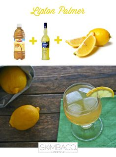 When life gives you lemons, make Leland Palmer cocktail recipe with iced tea, lemonade and limoncello