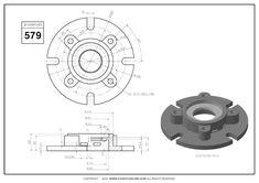 3D CAD EXERCISES 579 - STUDYCADCAM