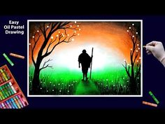 Independence Day Drawing by Oil Pastel step by step    Republic Day Drawing - YouTube