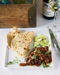Pork Carnitas with Garlic and Orange,   by Marcia Kiesel. From Food & Wine.