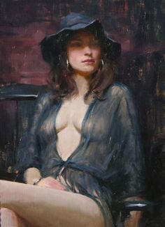 Jeremy Lipking 1975 | American RealistFigurative painter