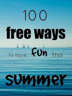 Summer is the best season of the year to do things outside, to go for walks, to have fun. Whether you are planning to go on vacation you c. Seasons Of The Year, Best Seasons, 100 Free, Walks, Greek, Bucket, Cinema, Vacation, How To Plan