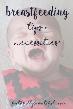 Breastfeeding tips,