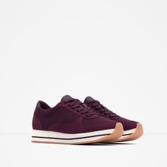 COMBINED SNEAKERS-View all-Shoes-WOMAN | ZARA United States