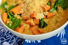 thermomix pumpkin and spinach risotto recipe-15