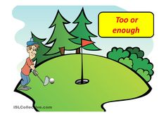 Too or enough: ESL powerpoint worksheet of the day on July 5, 2015 by maruka
