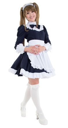 Secretary maid asian curly