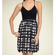 Theory Checkered Dress