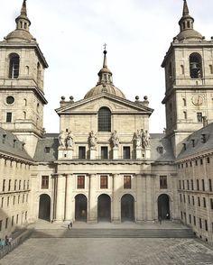 Simplemente imponente  Real Monasterio del Escorial #nature #photography