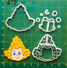 Bubble Guppies Cookie Cutter bubble guppies cookies,bubble guppies dress,bubble…