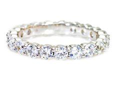 2ct Diamond Eternity Band Wedding Ring I am drooling