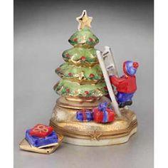 Limoges Christmas Tree Decorating Box