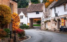 House over the road at Castle Combe, Wiltshire photo by Joe Daniel Price