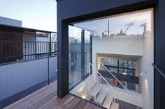 Flag House. Apollo Architects & Associates. Roof Deck.