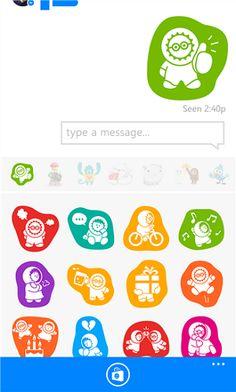 facebook stickers windows phone