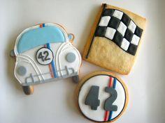 I loved Herbie movies as a kid - cookies by   Sugarlily Cookie, via Flickr