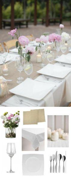simply #spring tablescape. #adoredecor