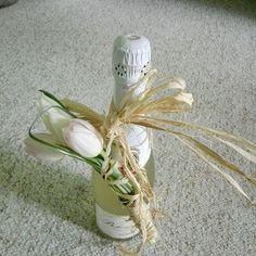 Bottle corsage