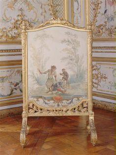 Château de Chantilly. Appartements Princiers. Grands Appartements. La Grande Singerie. Christophe Huet. 1737