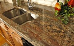 Image 12/22 | Sink Area Kitchen In Lake Orion   Crema Bordeaux Granite
