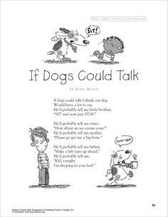 Poem: In a Dark, Dark Wood. This was one of my favorite