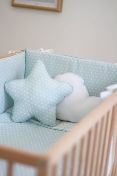 Protector de cuna chichonera cuna decoracion infantil beb