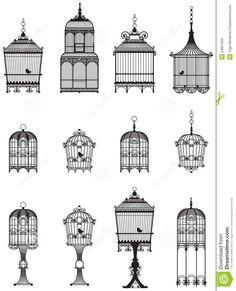 Bird cage tattoo ideas
