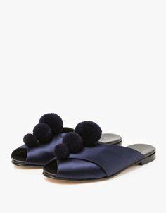 Trademark pom pom slippers