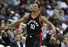 DeMar DeRozan gets buckets, and that means something = DeMar DeRozan takes control of the ball, surveys his opponents, and pulls up to shoot. Not from three, but from inside the arc, either shooting off the dribble, facing up, or attacking in the post.  These are typical scores you see from.....