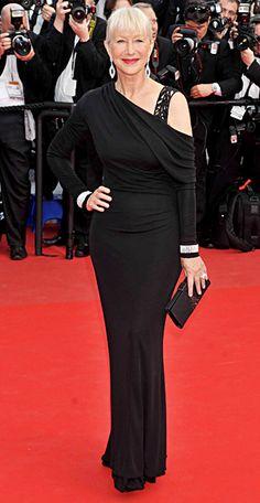 Helen Mirren's Best Red Carpet Looks Ever - In Elie Saab, 2010 from #InStyle
