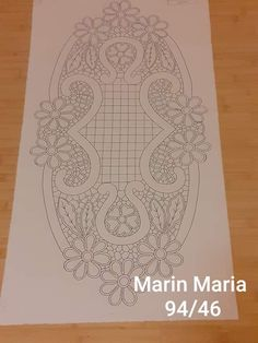 Viking Tattoo Design, Viking Tattoos, Embroidery Motifs, Ribbon Embroidery, Family Drawing, Romanian Lace, Sunflower Tattoo Design, Point Lace, Crochet Pillow