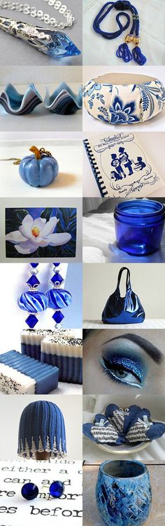 She Loves Blue  by Susan Givens on Etsy--Pinned+with+TreasuryPin.com