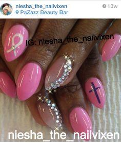 Instagram her - niesha_the_nailvixen   #customnails #nailart #instagramrepost