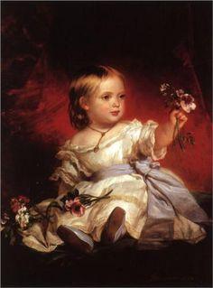 Franz Xaver Winterhalter (German: 1805-1873) | Victoria, Princess Royal