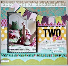 Classes : Patterned Paper Every Which Way : October 2010 - Designer Garden - Two Peas in a Bucket